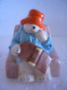 "1982 COALPORT ""Paddington Has A Nap"" Vintage Figurine"