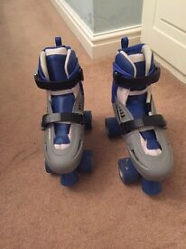 Storm racing skates ( in box ) size ( states fits uk size 3-6)