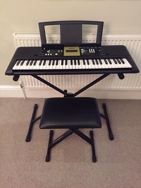 Yamaha Ypt 220 Digital Electric Keyboard Stand Stool