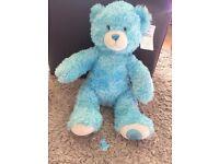 Limited edition blue build a bear
