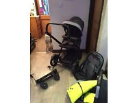 Double pushchair Jane Twone