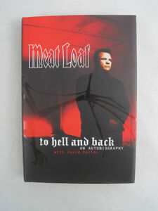 SIGNED COPY - TO HELL & BACK - MEATLOAF BIOGRAPHY - MINT