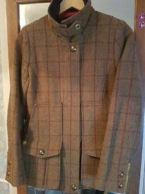 Joules Tweed Field Coat Size 8