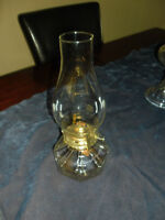 3, Vintage OIL LAMPS, *All Different*, 2 Never Used, Plus