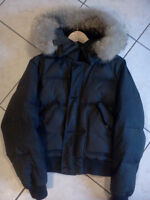 Black RALPH LAUREN Winter Jacket in mint condition MEDIUM size