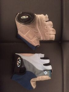 2 pairs cycling gloves