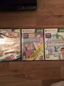 3 sealed Xbox 360 games