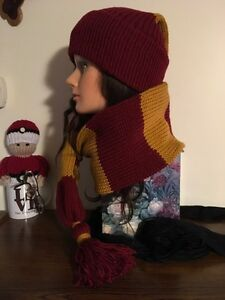 Unisex Harry Potter Inspired Winter Scat (hat n scarf in 1) Kitchener / Waterloo Kitchener Area image 2