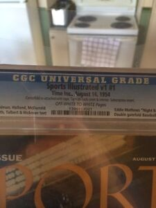 Sports Illustrated #1 1954 Fully Complete and graded by CGC Cornwall Ontario image 2