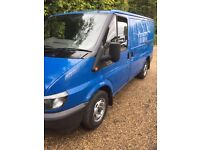 Ford transit T280 100bhp moted very straight and solid van