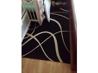Black and white rug for just £20