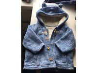Baby boys coat 3-6 month