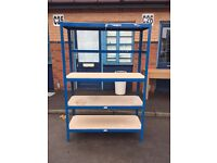 Unit clearance - racking , tables , trolley
