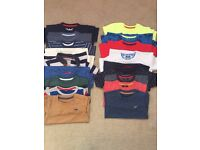 Bundle of small boys t shirts