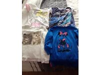 girls clothes bundle(includes jackets,tops and trousers) 7-8yrs