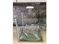 Cube fish tank £40