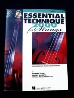 Violin - Book 3 - Essential Technique 2000 + CD