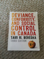 Deviance, Conformity, And Social Control in Canada 3rd ed.