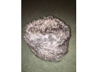 Fur Quilted Hat