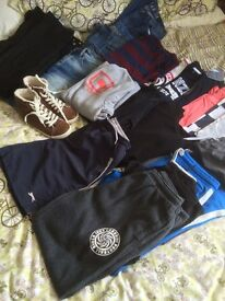 Bundle of boy clothes 13yrs