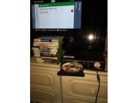 xbox360 with games