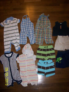 Baby Gap Summer Clothing, Boys 6-12 months