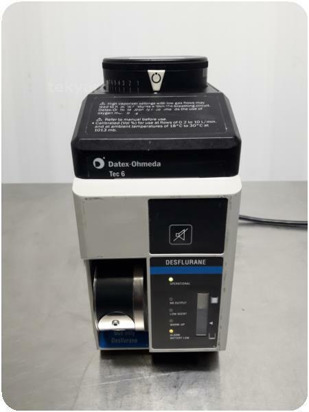 DATEX OHMEDA TEC 6 B DESFLURANE ANESTHESIA VAPORIZER % (226428)