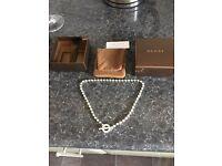 Genuine Gucci necklace