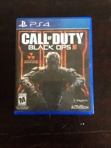 Black Ops 3 ps4 30$