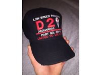 DSQUARED caps brand new with tags RRP £80+ designer hat like Hugo boss Armani moncler