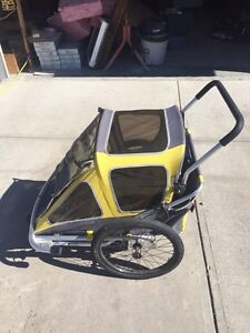 Chariot Co-Pilot Double stroller