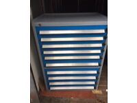 Bott industrial quality 10 drawer tool storage system