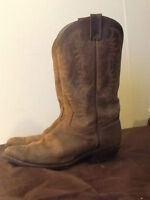 Genuine Leather Cowboy Boot---used One Time-- Size 11 Men
