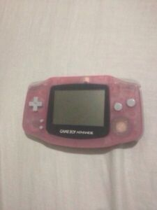 Game Boy Advance and 3 Games