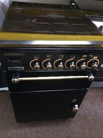 Black rang master 55cm gas cooker grill & oven good condition with guarantee