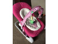 Chicco Hoopla Baby Rocker Chair - Used Once - Cost £60