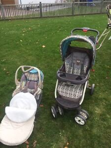 Baby Trend Stroller and car seat combo