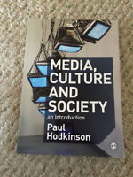 Media, Culture and Society an introduction by Hodkinson