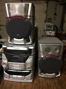 Sharp Stereo System