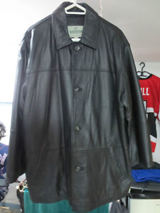 WINDRIVER 3/4 length LEATHER COAT West Island Greater Montréal image 1