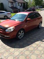 2007 Hyundai Accent Coupé (2 portes)