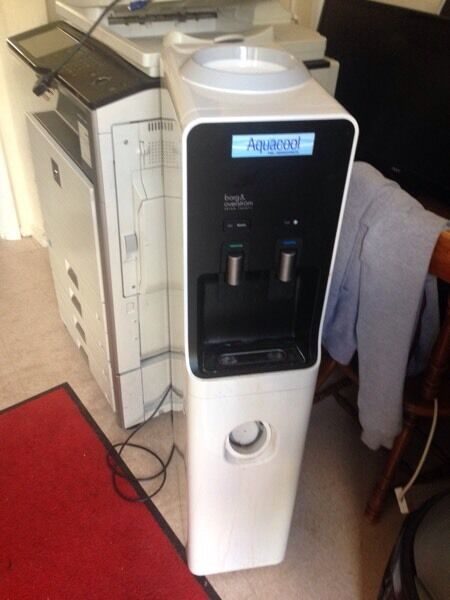 Borg and Overstrom water cooler