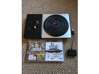 DJ Hero 1&2 With Decks.