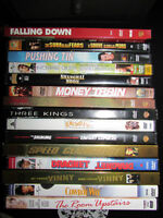 80 DVD'S - $1.00 EACH - NEW PHOTOS OF REMAINING DVD'S