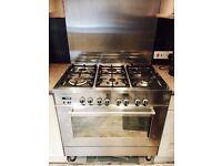 Delonghi 6 burner range cooker, oven grill for sale