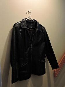 Manteau de cuir (L)