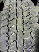 Pair of 245 75 16 Firestone Destination Tires! GREAT PRICE!