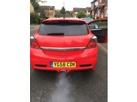 Red Vauxhall Astra VXR 2 litre