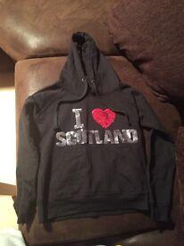 Scotland hoodie size small