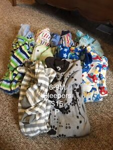 Assorted clothing lots 6-9M